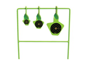 Spinning Target System Rated For .22 Pistol And Rifle Shooters